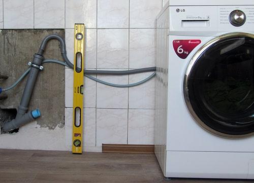 Установка стиральной машины в Киеве