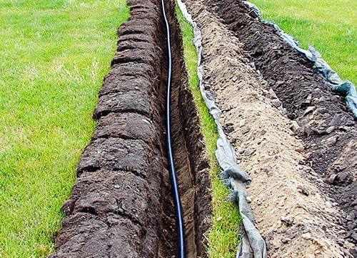 прокладка водопровода в Киеве